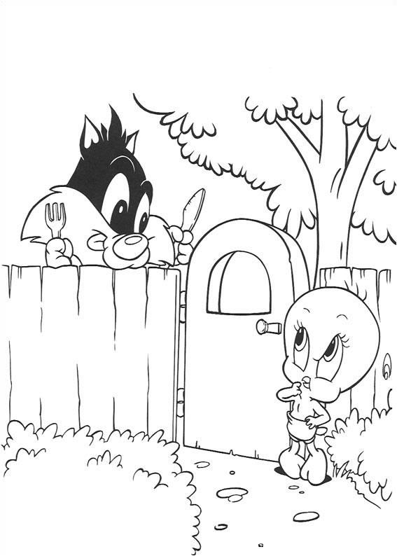 Portal Do Itaim Paulista Desenhos Para Colorir Baby Looney Tunes